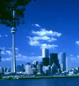 Toronto skyline - 2001 AD